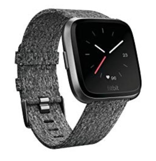 Fitbit Versa Se Charcoal Woven,CJK