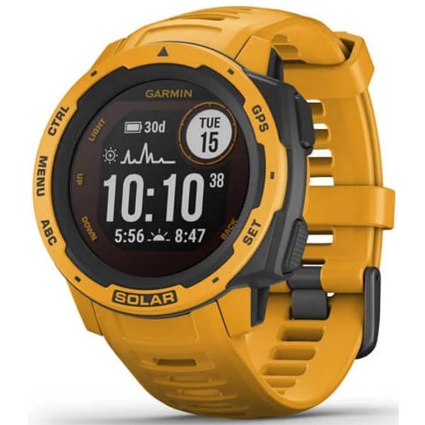 Garmin Instinct Solar GPS Watch (Sunburst)