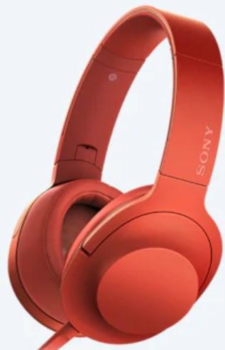Sony MDR-100AAP Headphone (Orange)