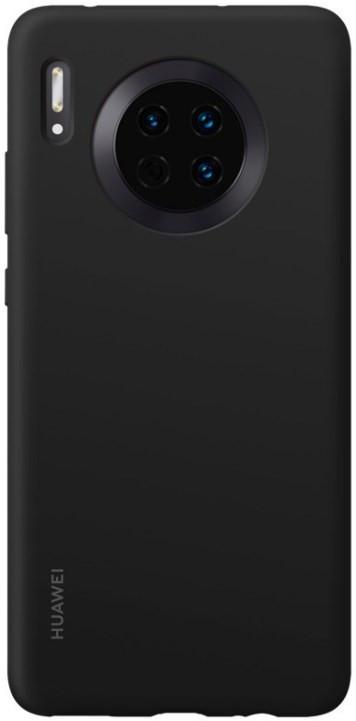 Huawei Mate 30 Silicon Case Black