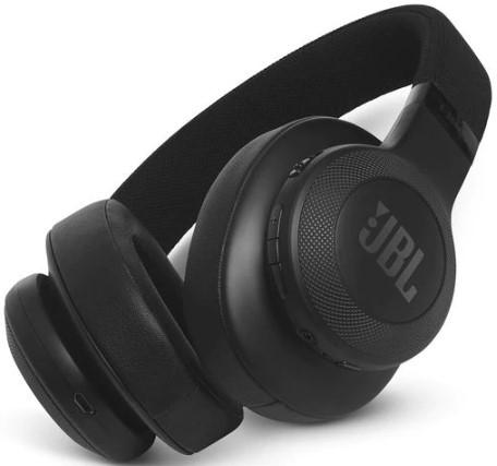 JBL E55BT Wireless over-ear headphones (Black)