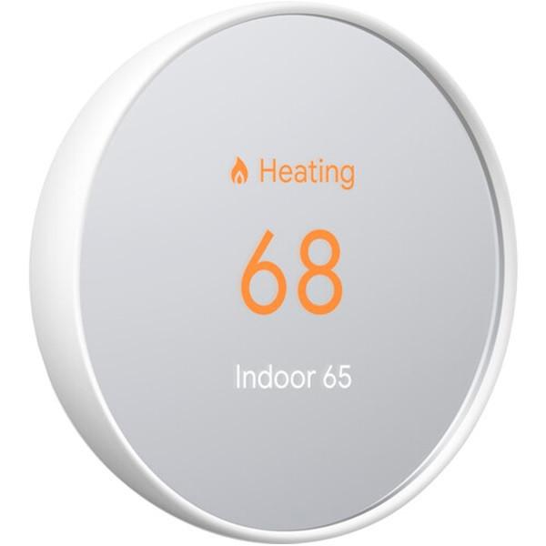 Google Nest Thermostat Snow