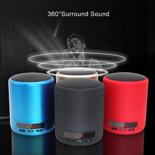 Mini Portable Bluetooth Speaker(Gray)
