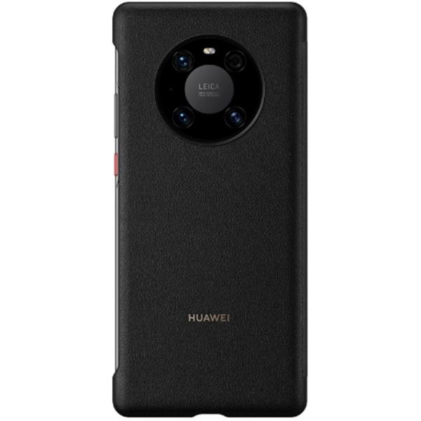 Huawei Mate 40 Pro Smart View Flip Phone Cover (Black)