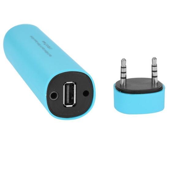 3 in 1 4000mAh Power Bank + Smartphone Stand + Speaker (Blue)